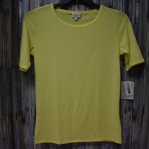 Lularoe Medium Yellow Gigi Shirt Top New